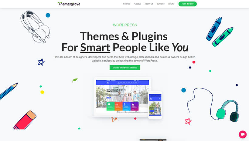 Themes Grove | Elementor Resources