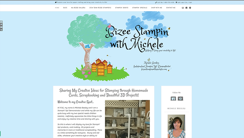 Bizee Stampin with Michele