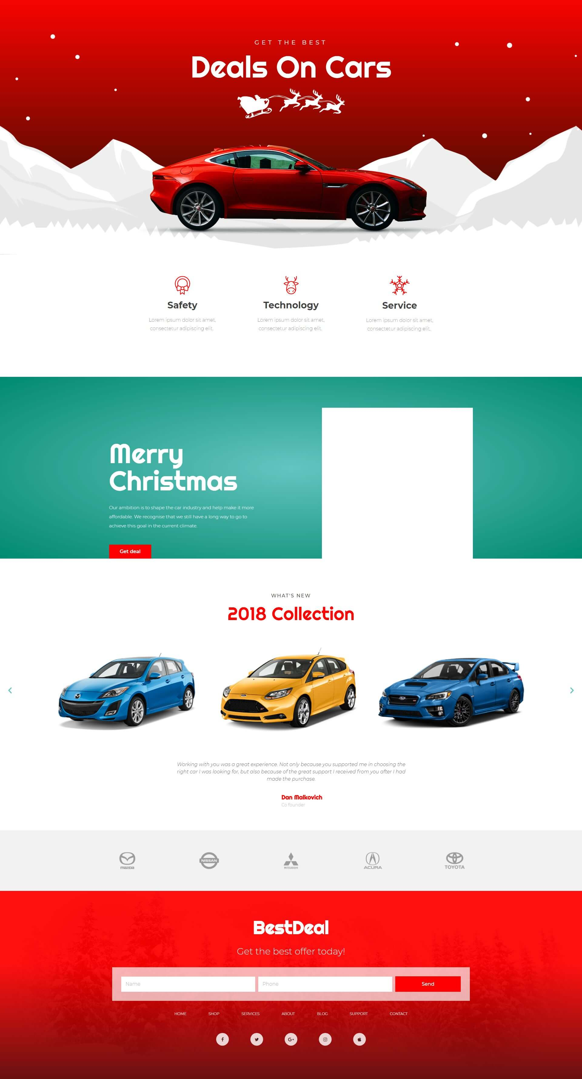 Christmas – Car Agency