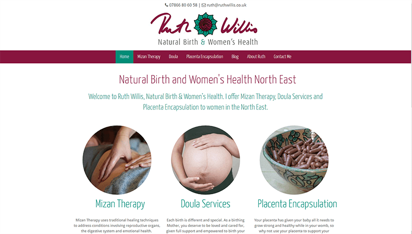 Ruth Willis – Natural Birth and Women's Health North East