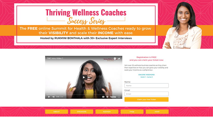 Thriving Wellness Coaches Success Series