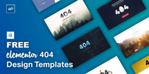 7+ FREE Elementor 404 Design Templates for 2020