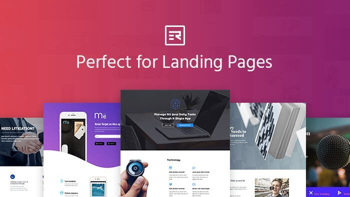 Perfect For landing Pages by Elementor Resources