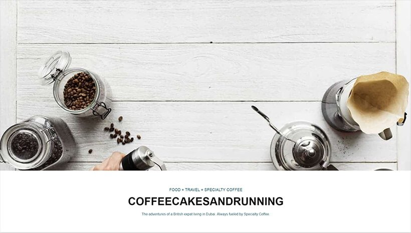 Coffee Cakes and Running