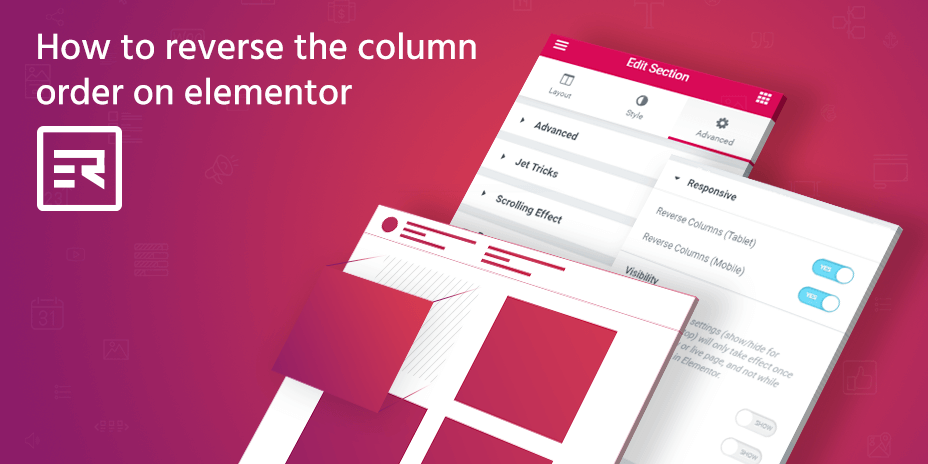 How to Reverse the Column Order on Elementor