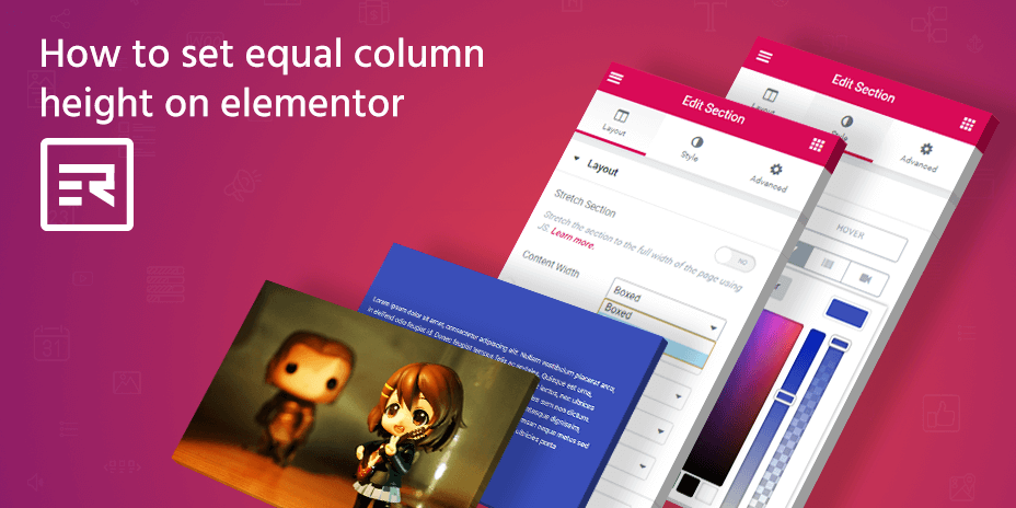 How to Set Equal Column Height on Elementor