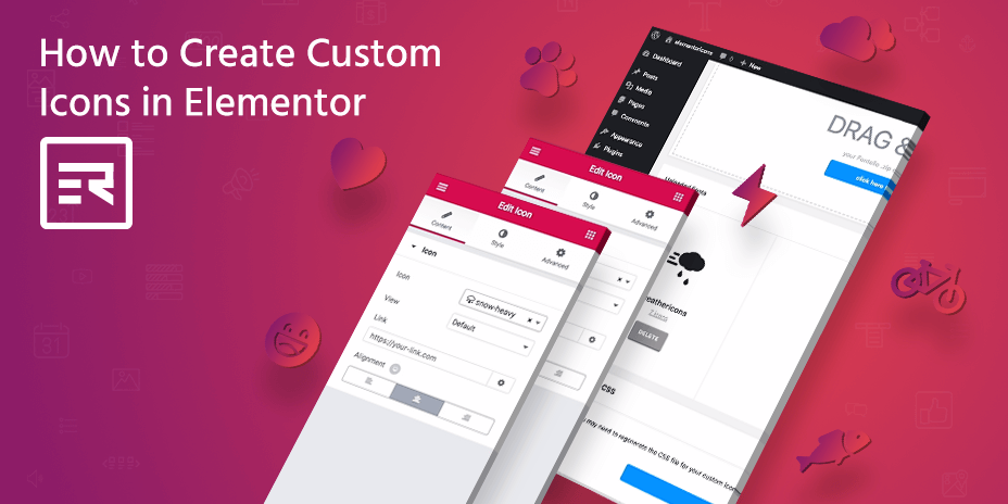 How to Create Custom Icons in Elementor