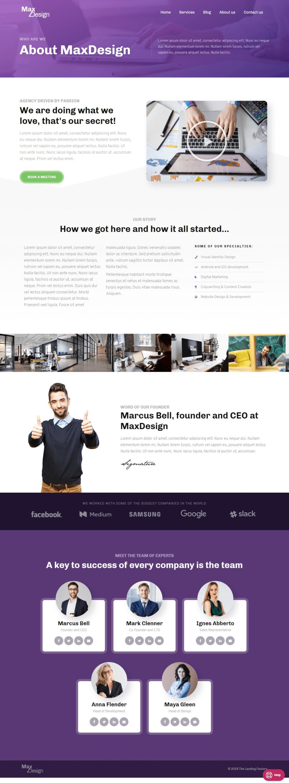 Max Design About