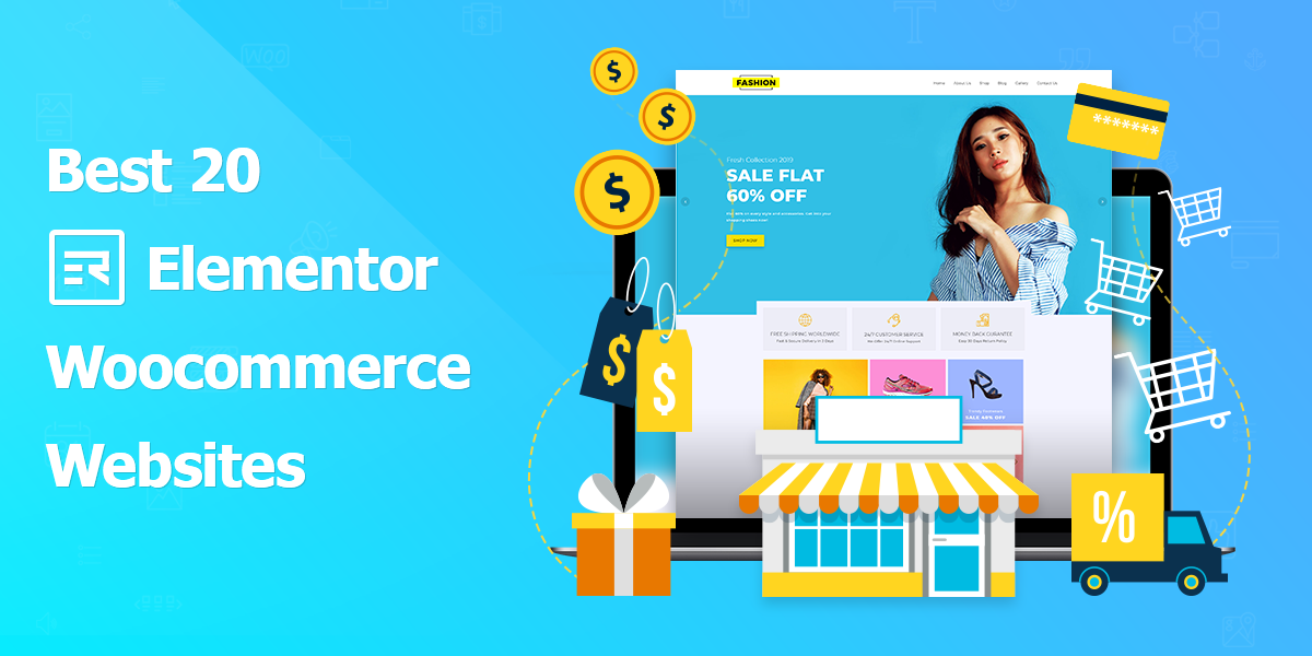 Best 20 Elementor WooCommerce Sites This 2019