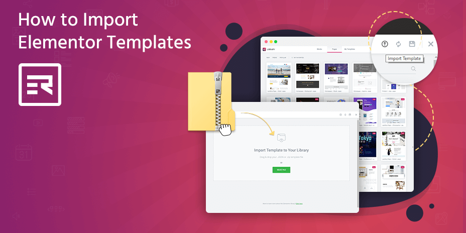 How to Import Elementor Templates