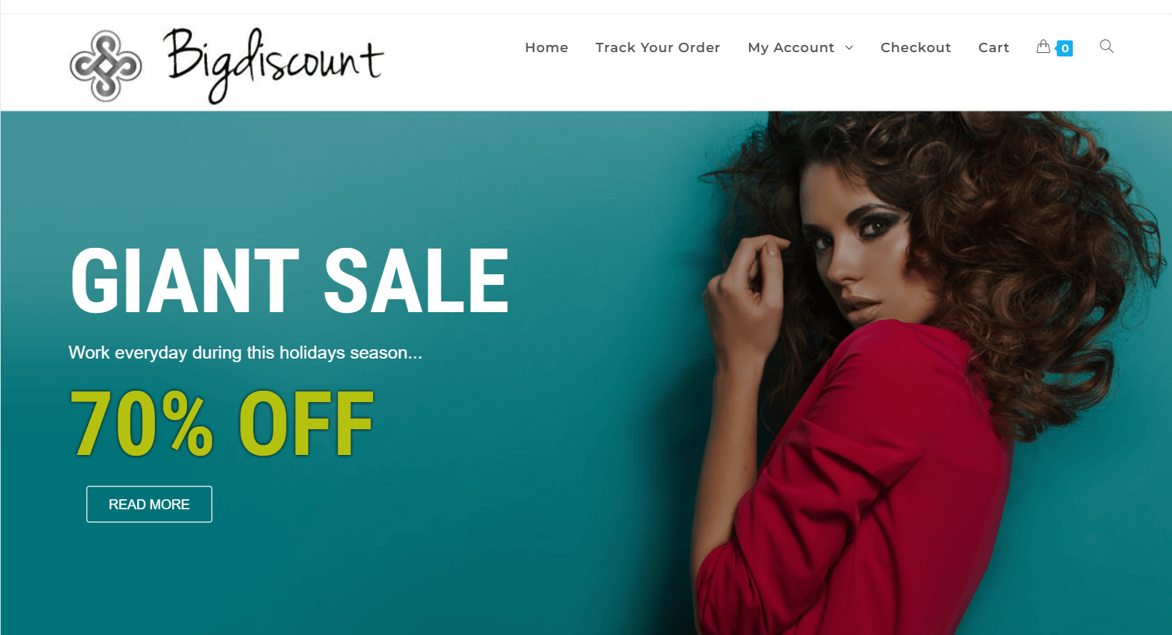 bigdiscount website screenshot