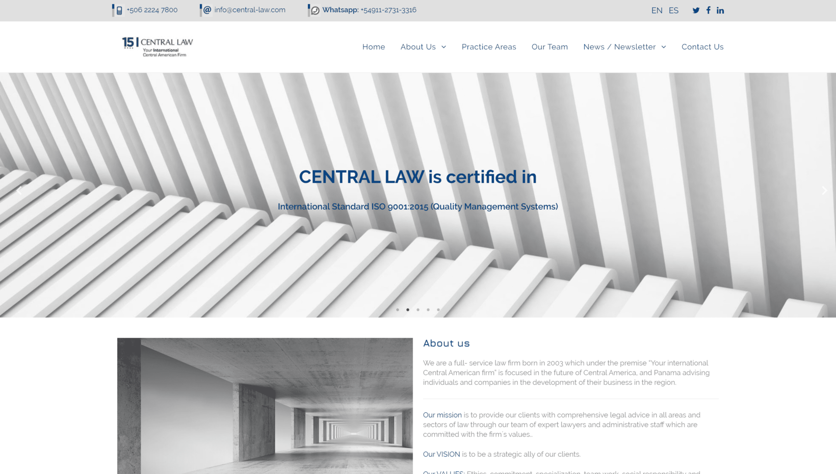 Central Law