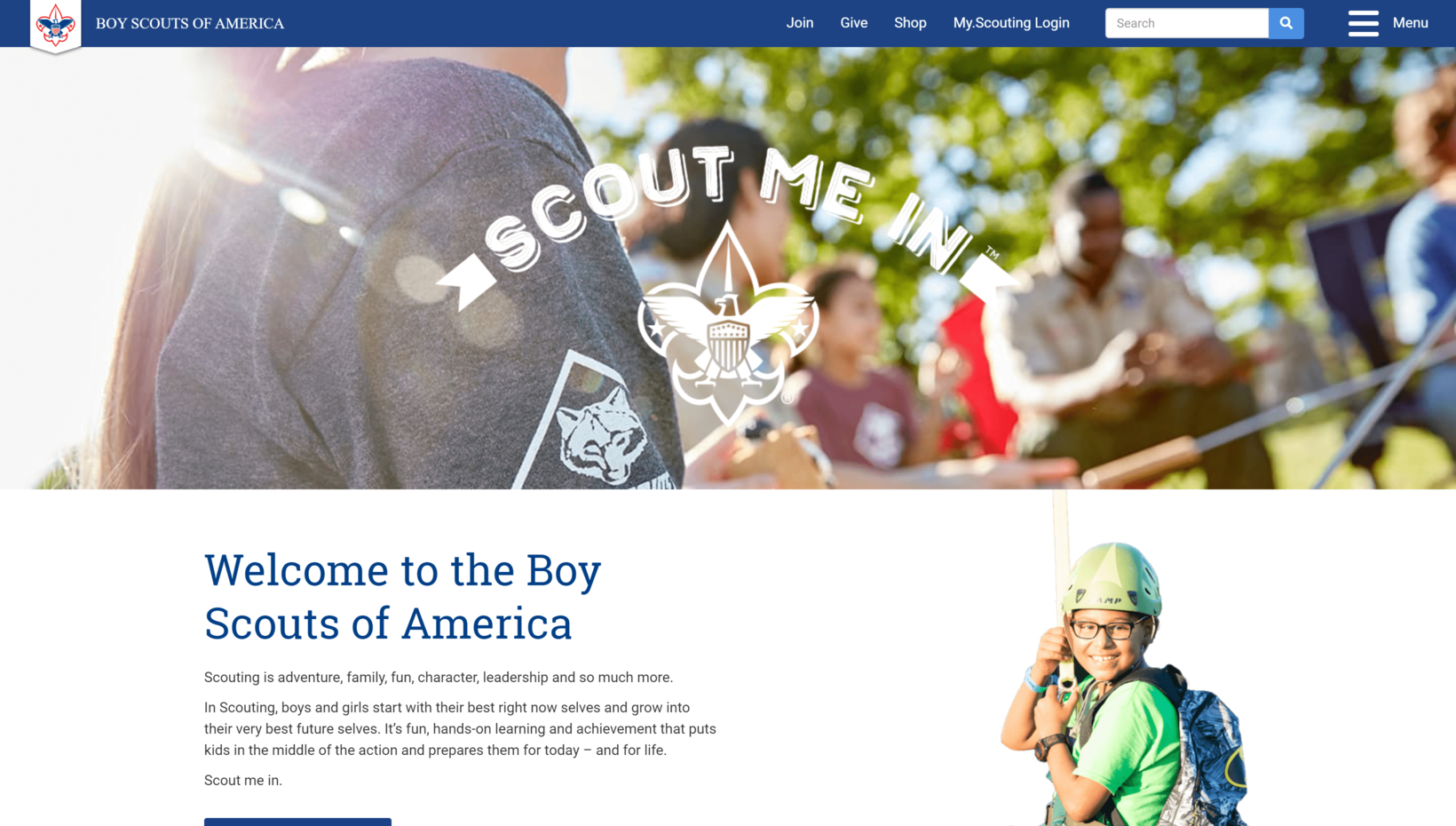 Boy Scout of America