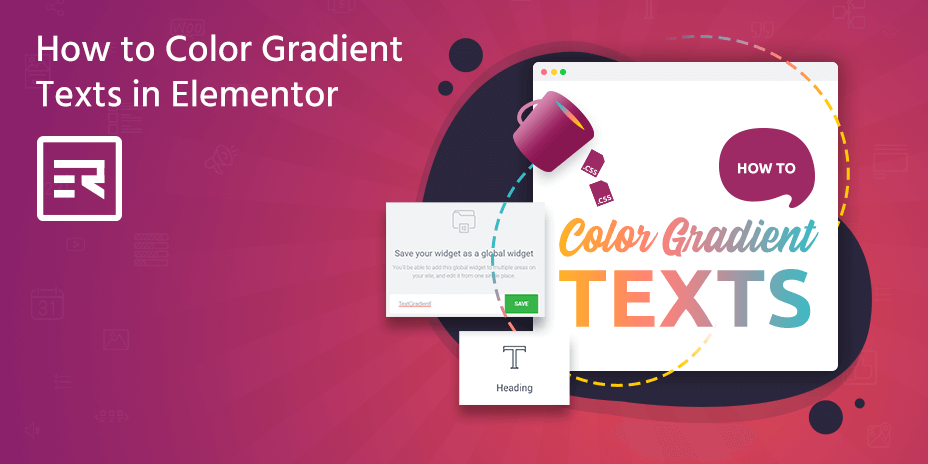 How to Color Gradient Texts in Elementor