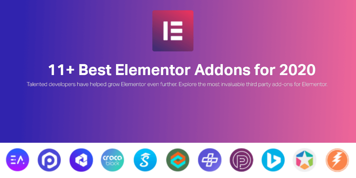 11+ Best Elementor Addons Blog Featured Image