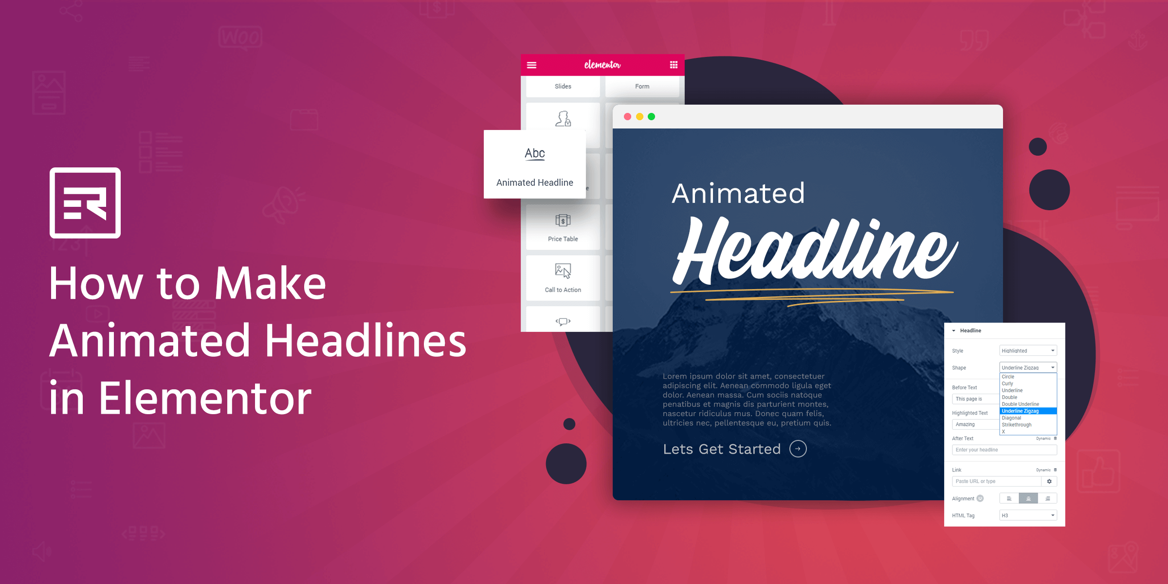 How to Make Animated Headlines in Elementor