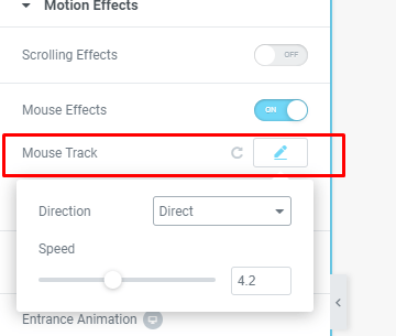 Mouse Effects Tutorial on Elementor Pro 1