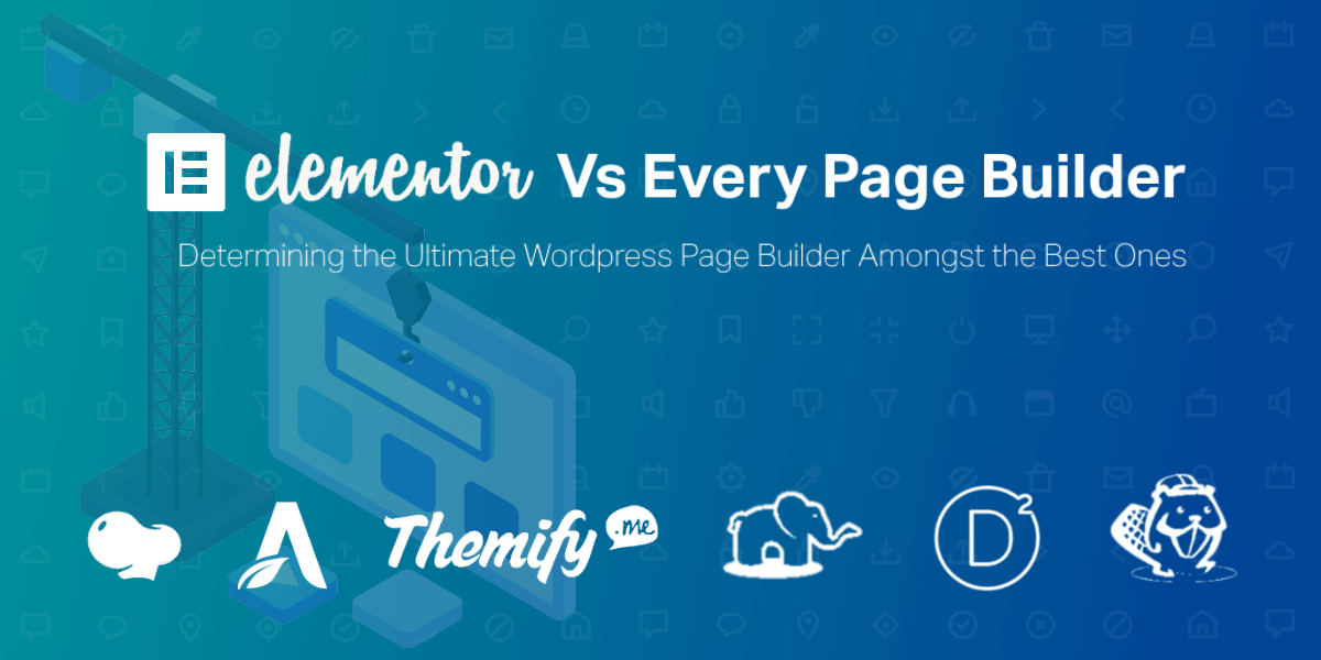 Elementor VS EVery Page Builder Featured Image V2