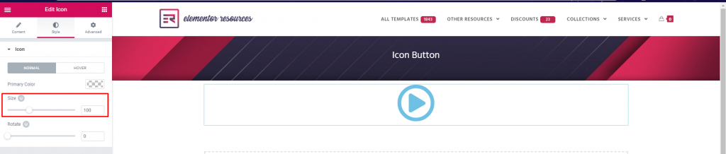 How to Create Icon Only Buttons3