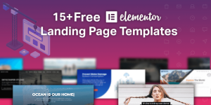 15+ Free Elementor Landing Page Templates for 2020