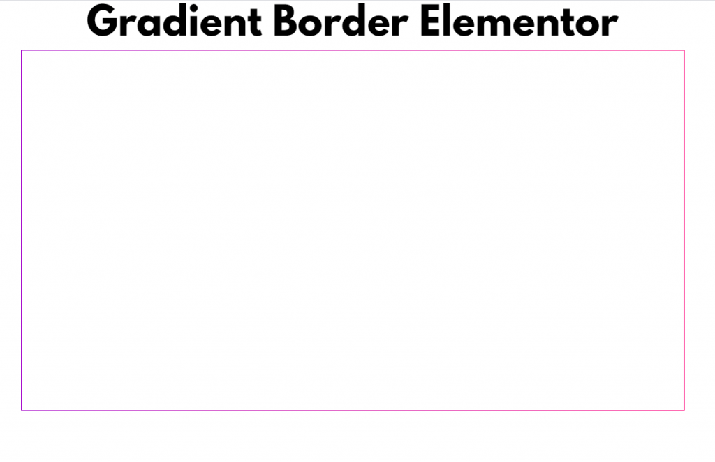 How to Create Gradient Borders in Elementor5