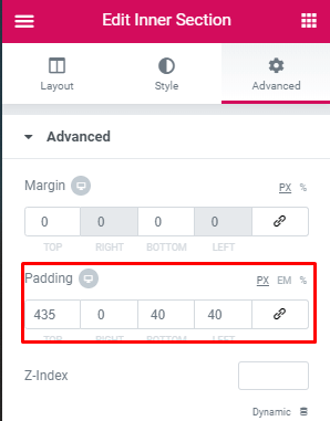 Step 6: Copy and paste the CSS snippet below: