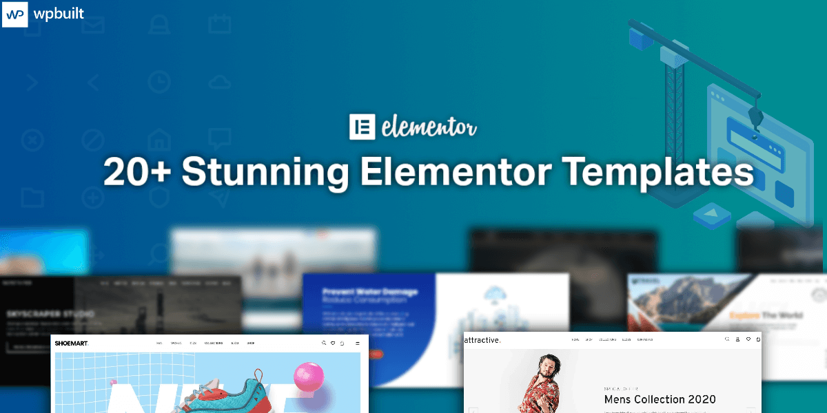 20+ Stunning Elementor Templates for 2020 (1)