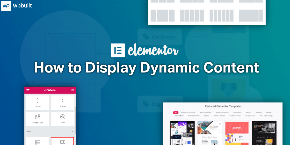 How to Display Dynamic Content in Elementor