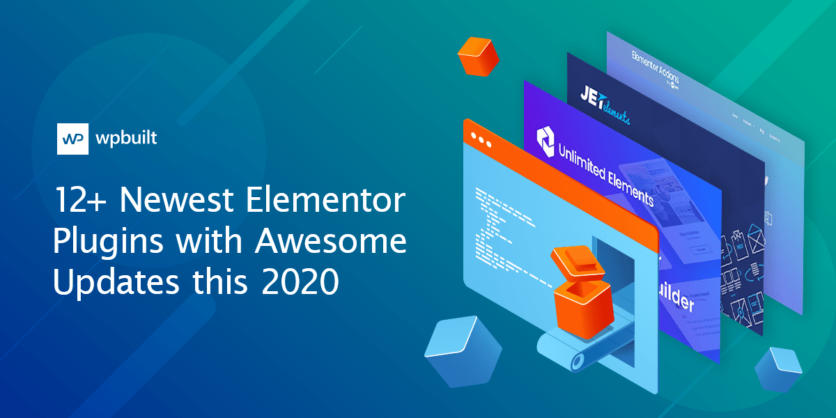 12+ Newest Elementor Plugins with Awesome Updates this 2020