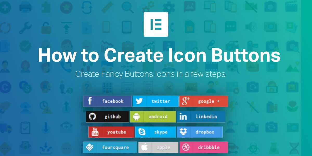 How to Create Icon Only Buttons in Elementor