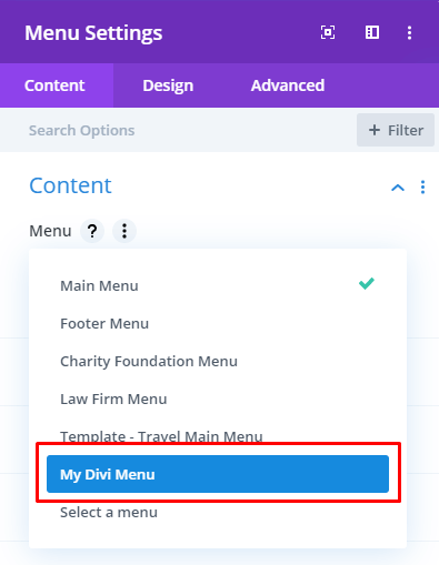 How to Create Divi Menus7